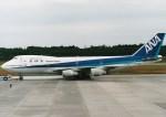NH642さんが、熊本空港で撮影した全日空 747SR-81の航空フォト(写真)