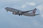 qooさんが、関西国際空港で撮影した日本航空 737-846の航空フォト(写真)