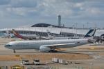 qooさんが、関西国際空港で撮影したキャセイパシフィック航空 A330-343Xの航空フォト(写真)
