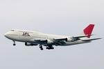 kinsanさんが、那覇空港で撮影した日本航空 747-146B/SR/SUDの航空フォト(写真)