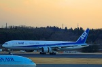 Wasawasa-isaoさんが、成田国際空港で撮影した全日空 777-381/ERの航空フォト(写真)