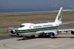 yoyotoruさんが、中部国際空港で撮影したエバーグリーン航空 747-230B(SF)の航空フォト(写真)