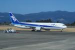職業旅人さんが、鹿児島空港で撮影した全日空 767-381の航空フォト(写真)
