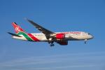 よしぱるさんが、ロンドン・ヒースロー空港で撮影したケニア航空 787-8 Dreamlinerの航空フォト(写真)