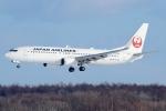 Ariesさんが、新千歳空港で撮影した日本航空 737-846の航空フォト(写真)