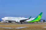 臨時特急7032Mさんが、佐賀空港で撮影した春秋航空日本 737-8ALの航空フォト(写真)