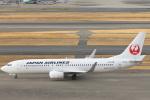 安芸あすかさんが、羽田空港で撮影した日本航空 737-846の航空フォト(写真)
