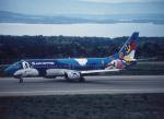 プルシアンブルーさんが、能登空港で撮影したエアーニッポン 737-4Y0の航空フォト(写真)
