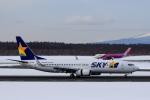 noriphotoさんが、新千歳空港で撮影したスカイマーク 737-82Yの航空フォト(写真)