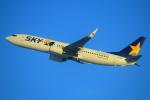 セブンさんが、新千歳空港で撮影したスカイマーク 737-86Nの航空フォト(写真)