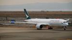 ねぎぬきさんが、関西国際空港で撮影したキャセイパシフィック航空 A350-941XWBの航空フォト(写真)