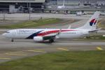 Koba UNITED®さんが、クアラルンプール国際空港で撮影したマレーシア航空 737-8H6の航空フォト(写真)