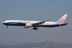 JRF spotterさんが、ロサンゼルス国際空港で撮影したチャイナエアライン 777-309/ERの航空フォト(写真)