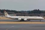 Triton-Blueさんが、成田国際空港で撮影したエティハド航空 A340-642Xの航空フォト(写真)