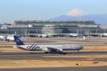 せぷてんばーさんが、羽田空港で撮影したガルーダ・インドネシア航空 777-3U3/ERの航空フォト(写真)