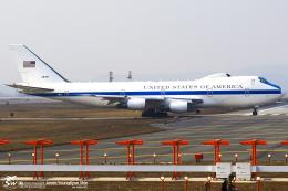 LSGさんが、烏山空軍基地で撮影したアメリカ空軍 E-4B (747-200B)の航空フォト(写真)