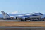 tuckerさんが、横田基地で撮影したアメリカ空軍 E-4B (747-200B)の航空フォト(写真)