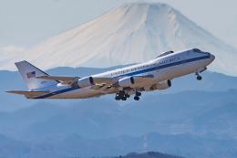 Tomo-Papaさんが、横田基地で撮影したアメリカ空軍 E-4B (747-200B)の航空フォト(写真)