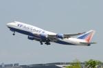 いもや太郎さんが、スワンナプーム国際空港で撮影したトランスアエロ航空 747-444の航空フォト(写真)