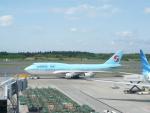 エアキヨさんが、成田国際空港で撮影した大韓航空 747-4B5の航空フォト(写真)