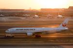 チャッピー・シミズさんが、羽田空港で撮影した日本航空 777-246の航空フォト(写真)