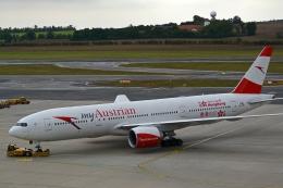 kansai-spotterさんが、ウィーン国際空港で撮影したオーストリア航空 777-2B8/ERの航空フォト(写真)