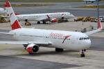 kansai-spotterさんが、ウィーン国際空港で撮影したオーストリア航空 767-3Z9/ERの航空フォト(写真)