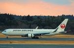 Wasawasa-isaoさんが、成田国際空港で撮影した日本航空 767-346/ERの航空フォト(写真)