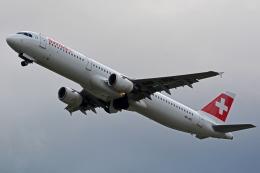 kansai-spotterさんが、チューリッヒ空港で撮影したスイスインターナショナルエアラインズ A321-111の航空フォト(写真)