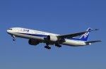ららもんさんが、成田国際空港で撮影した全日空 777-381/ERの航空フォト(写真)