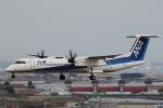やまけんさんが、仙台空港で撮影したANAウイングス DHC-8-402Q Dash 8の航空フォト(写真)