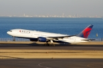 zettaishinさんが、羽田空港で撮影したデルタ航空 777-232/ERの航空フォト(写真)