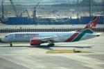 cassiopeiaさんが、スワンナプーム国際空港で撮影したケニア航空 787-8 Dreamlinerの航空フォト(写真)