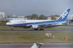 うすさんが、名古屋飛行場で撮影した全日空 767-281の航空フォト(写真)