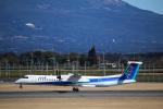 takaRJNSさんが、鹿児島空港で撮影したANAウイングス DHC-8-402Q Dash 8の航空フォト(写真)