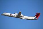 takaRJNSさんが、鹿児島空港で撮影した日本エアコミューター DHC-8-402Q Dash 8の航空フォト(写真)