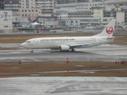 日本トランスオーシャン航空 機材一覧  Boeing 737-400機材