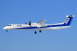 セブンさんが、新千歳空港で撮影したANAウイングス DHC-8-402Q Dash 8の航空フォト(写真)