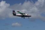 しかばねさんが、プリンセス・ジュリアナ国際空港で撮影したウィンエア DHC-6-300 Twin Otterの航空フォト(写真)