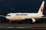 Amaizing787さんが、熊本空港で撮影した日本航空 767-346/ERの航空フォト(写真)