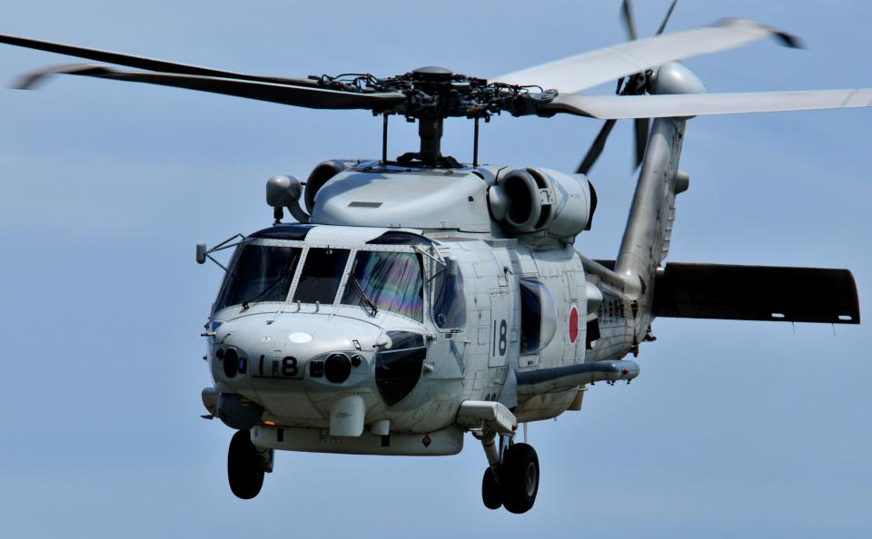 海上自衛隊 Mitsubishi SH-60K 8418 長崎空港  航空フォト | by チャーリーマイクさん