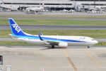 Timothyさんが、羽田空港で撮影した全日空 737-881の航空フォト(写真)