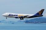 いもや太郎さんが、香港国際空港で撮影したポーラーエアカーゴ 747-243B(SF)の航空フォト(写真)
