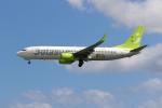 yousei-pixyさんが、那覇空港で撮影したソラシド エア 737-86Nの航空フォト(写真)