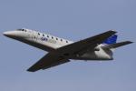 ぽんさんが、高松空港で撮影した宇宙航空研究開発機構 680 Citation Sovereignの航空フォト(写真)