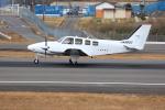 ぽんさんが、高松空港で撮影した朝日航空 G58 Baronの航空フォト(写真)