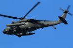 tomoMTさんが、厚木飛行場で撮影したアメリカ陸軍 UH-60A Black Hawk (S-70A)の航空フォト(写真)