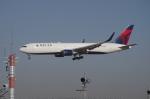 YWさんが、成田国際空港で撮影したデルタ航空 767-332/ERの航空フォト(写真)