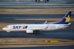 zettaishinさんが、羽田空港で撮影したスカイマーク 737-86Nの航空フォト(写真)