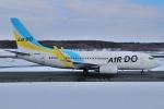 スピードバードさんが、新千歳空港で撮影したAIR DO 737-781の航空フォト(写真)